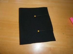 Fold rib knit