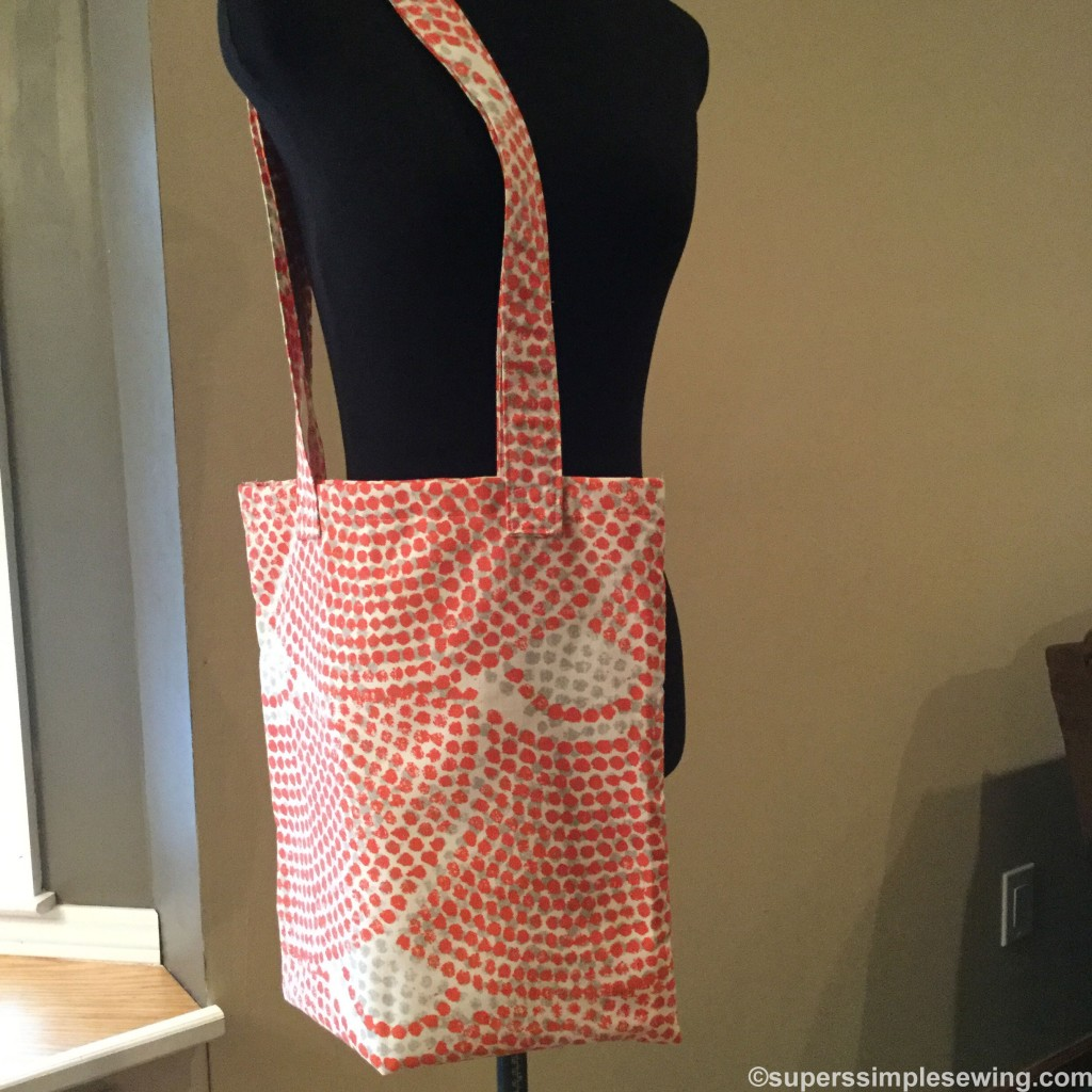 Market Bag for the Sewing Beginner