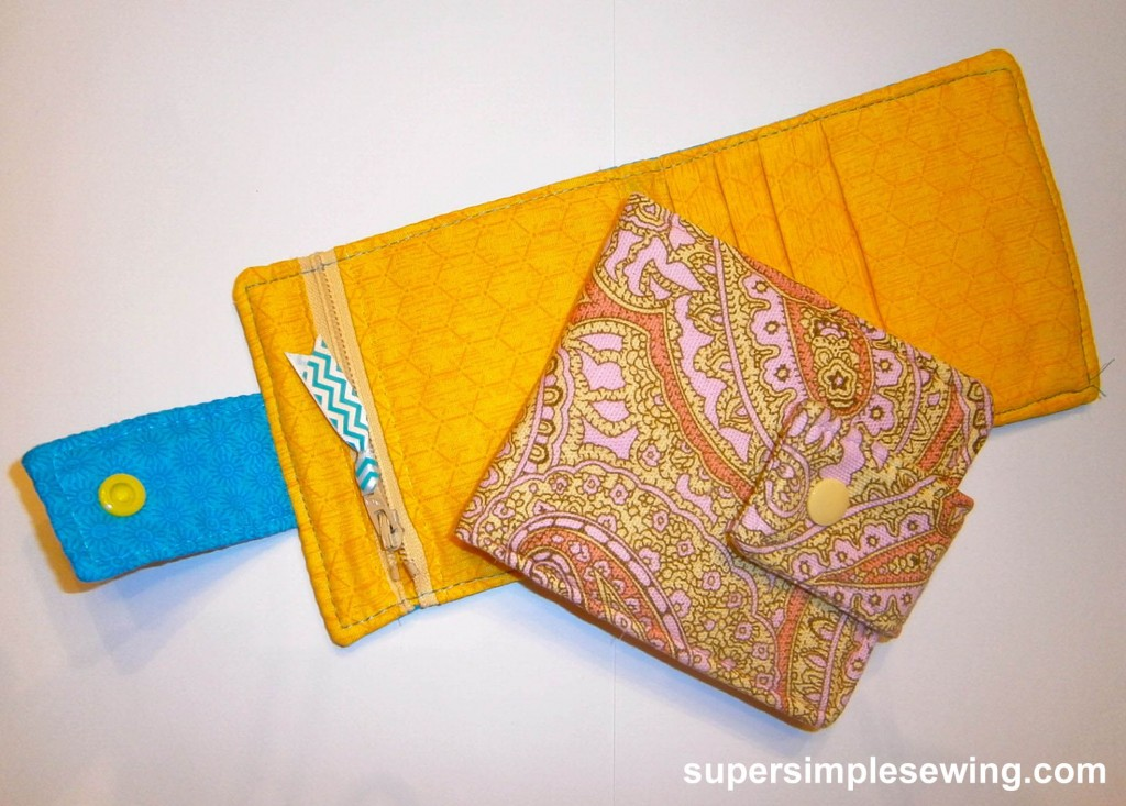 Fabric Wallet Sewing Pattern