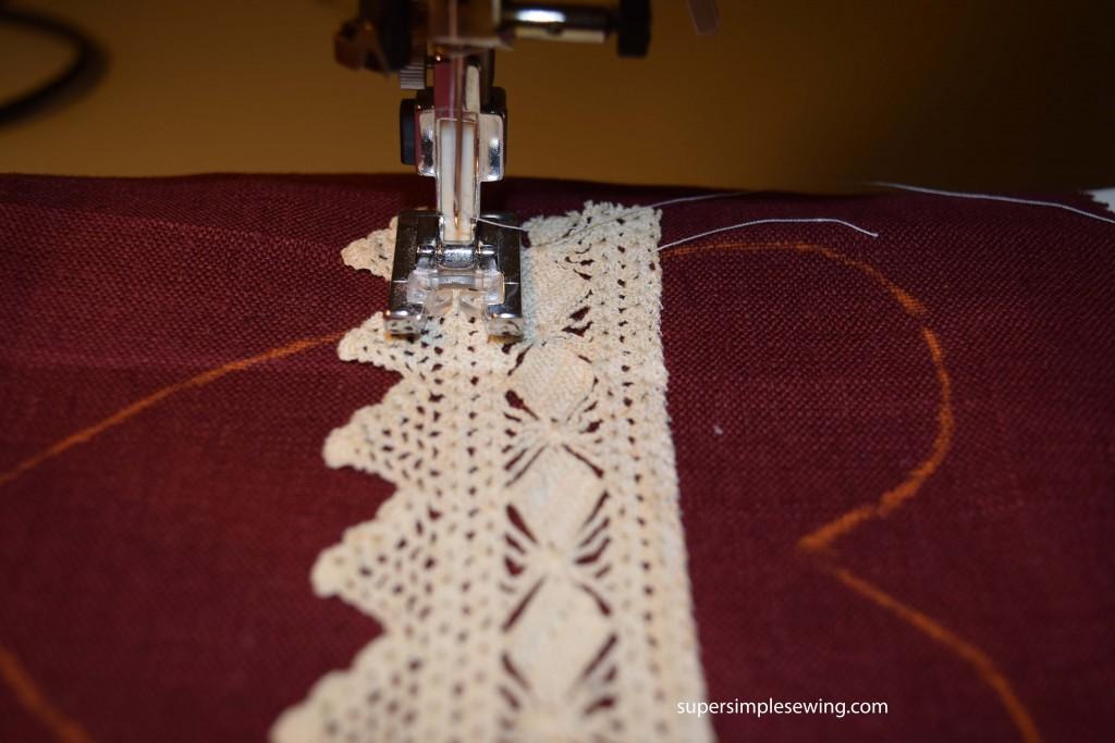 sew lace 2