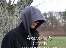 assassin's creed hood side crop with type