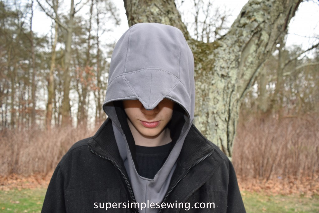 Assassin's Creed Inspired Hood Sewing Pattern