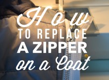How to replace a zipper on a coat2