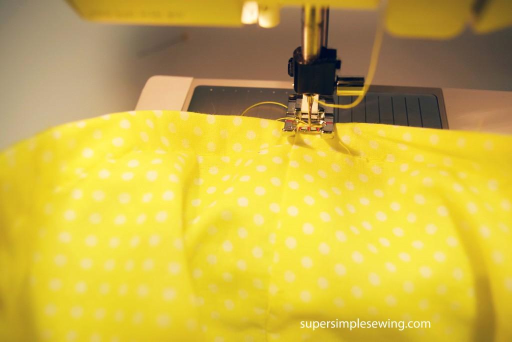sew boning